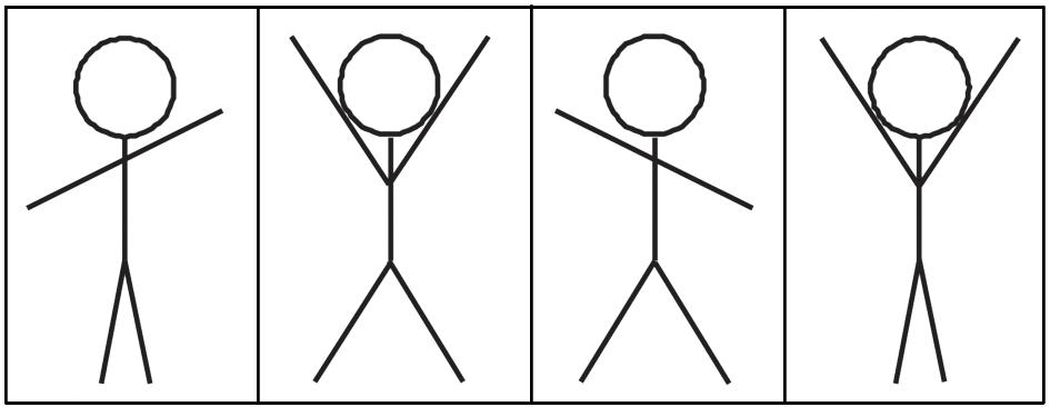 Игра веселые человечки в картинках, днем учителя