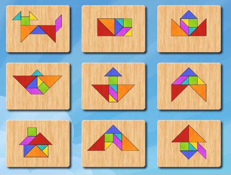 головоломки в картинках и схемах